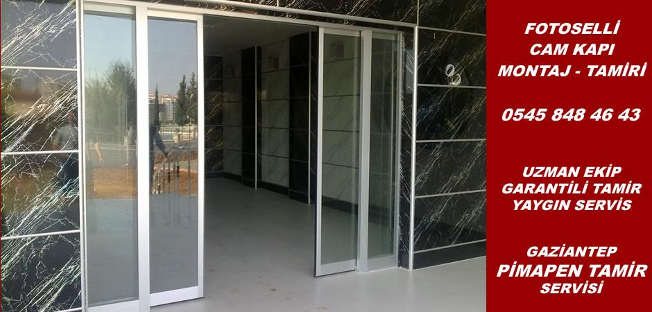 Fotoselli cam kapı montaj ve tamiri